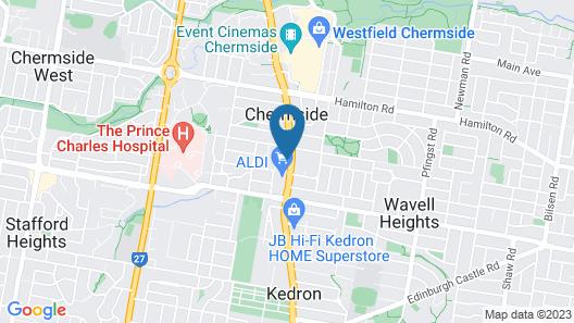 Chermside Motor Inn Map