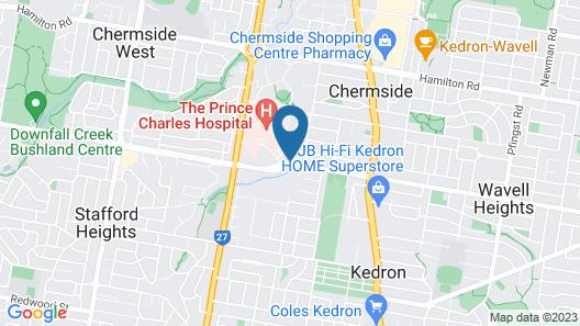 Essence Apartments Chermside Map