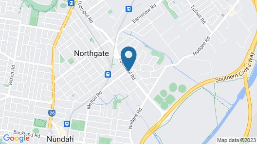 Comfort Inn & Suites Northgate Airport Map