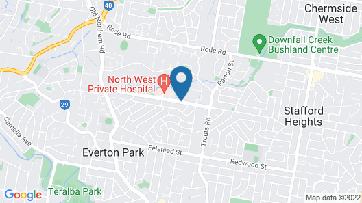 Everton Park Hotel Map
