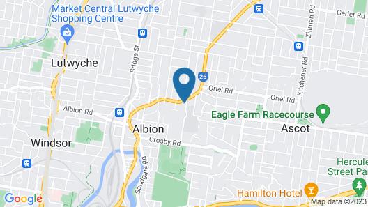 Ascot Apartments Map