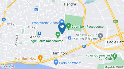 Ascot Budget Inn & Residences Map