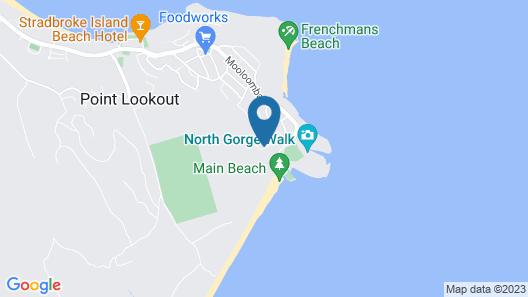 Whale Watch Ocean Beach Resort Map