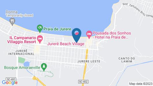 Jurere Beach Village Map