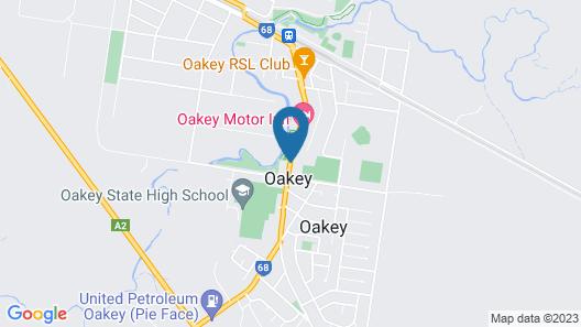 Park House Motor Inn Map