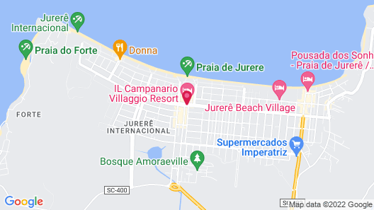 Il Campanario Villagio Resort Map