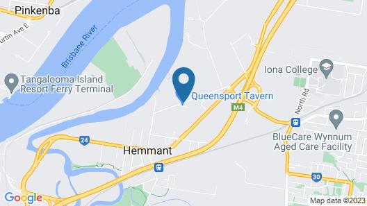 The Queensport Motel & Tavern Map