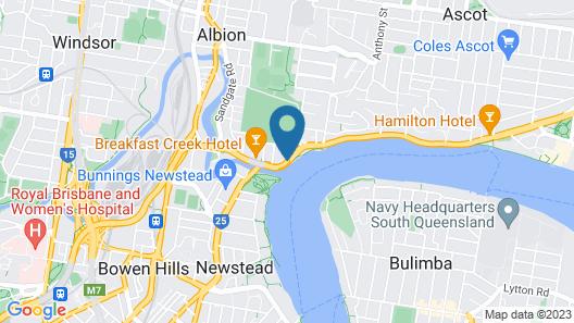 View Brisbane (Brisbane Riverview Hotel) Map