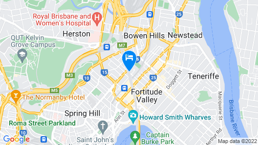 Limes Boutique Hotel Map