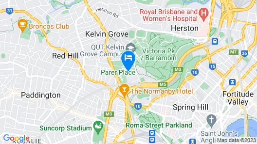 Quest Kelvin Grove Map