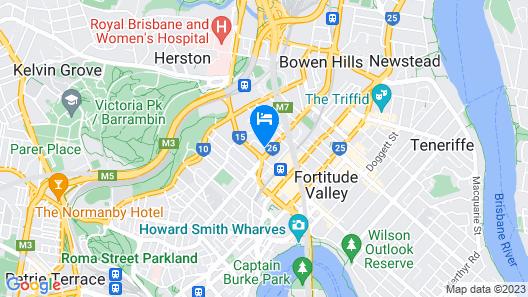 Amelia Boutique Hotel Map