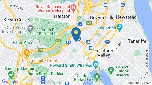 Comfort Inn Spring Hill Terraces Map