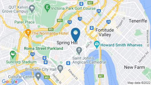 Kookaburra Inn Map