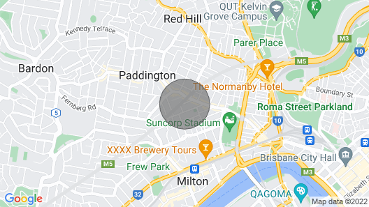 Stylish 3BD Family Home in Leafy Paddington! Map