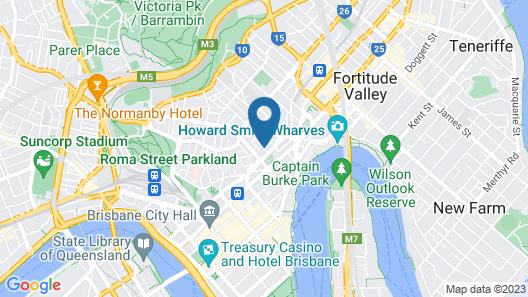 Frisco Apartments Map