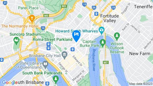 Novotel Brisbane Map