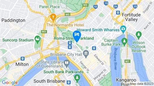 Soho Brisbane Map