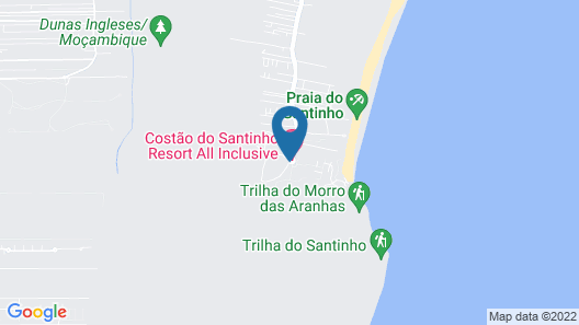 Costao do Santinho Resort - All-Inclusive Map