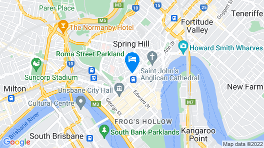 Sofitel Brisbane Central Map