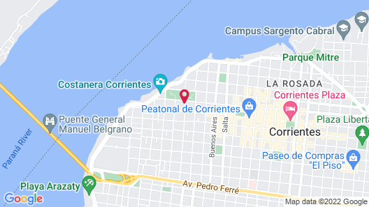 Turismo Hotel Casino Map