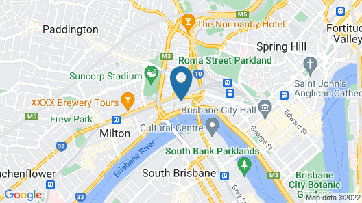 City Backpackers HQ Map