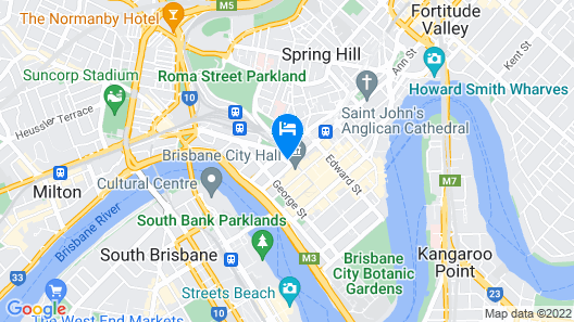 Pullman Brisbane King George Square Map