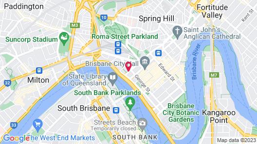 ibis Brisbane Map