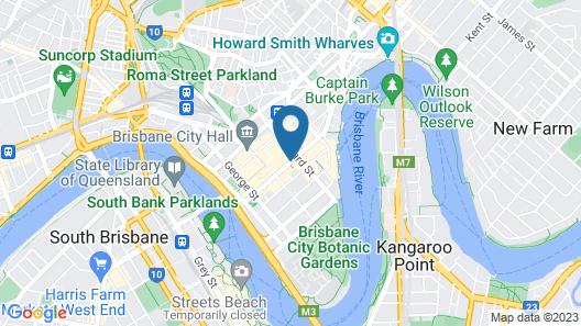 Hilton Brisbane Map