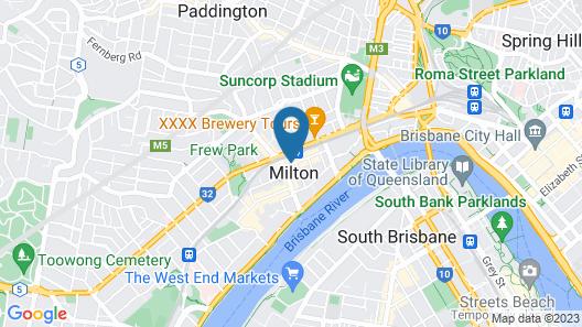 The Milton Brisbane Map