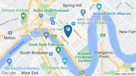 Hyatt Regency Brisbane Map