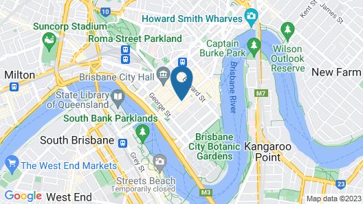 Royal Albert Hotel Map