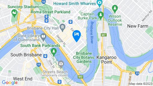 Four Points by Sheraton Brisbane Map