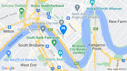 Ibis Styles Brisbane Elizabeth Street Map