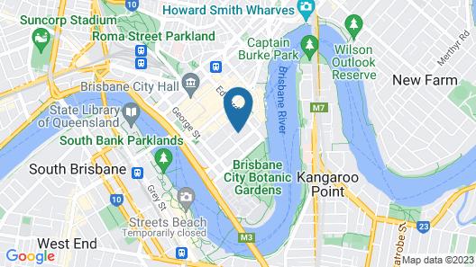 The Westin Brisbane Map