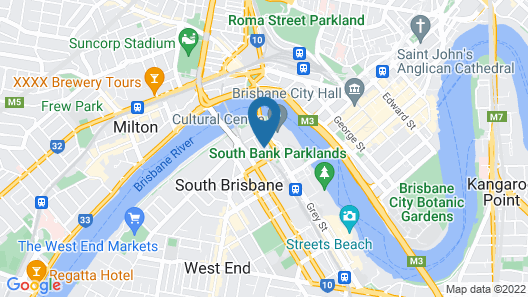 Airhome Southbank Riverside Tower Map