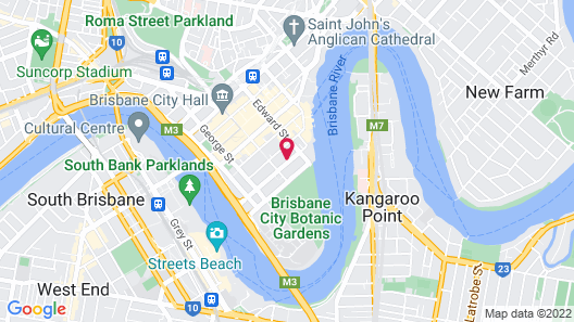 Arise Brisbane Skytower Map