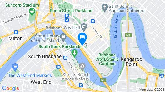 Treasury Brisbane Map