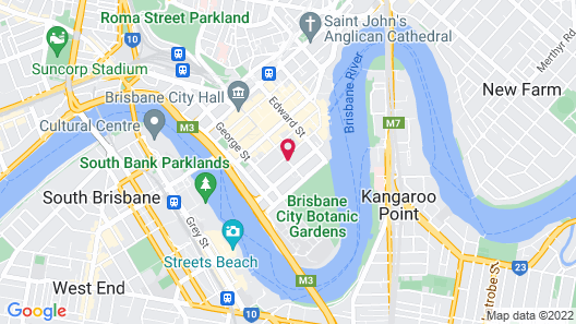Capri by Fraser, Brisbane Map