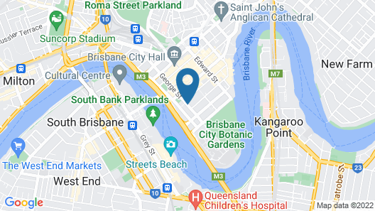 Great Southern Hotel Brisbane Map