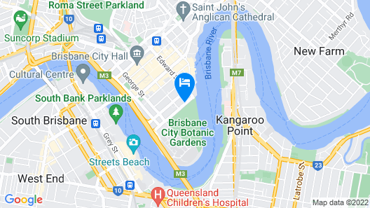 Royal On The Park Map
