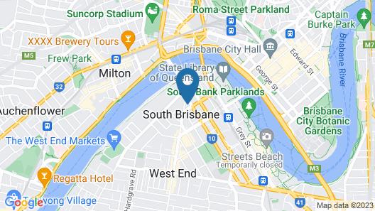 Arise Brisbane One Map