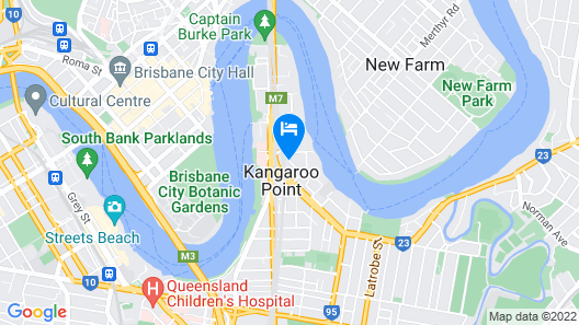 The Point Brisbane Hotel Map