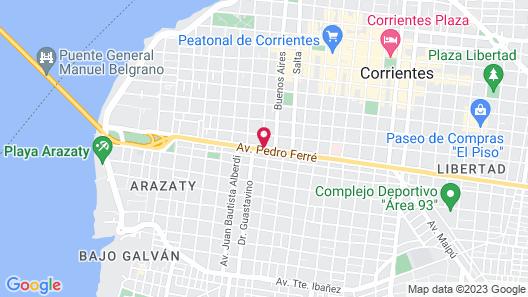 La Alondra Casa De Huéspedes Map
