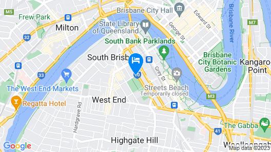 Vine Serviced Apartments Map