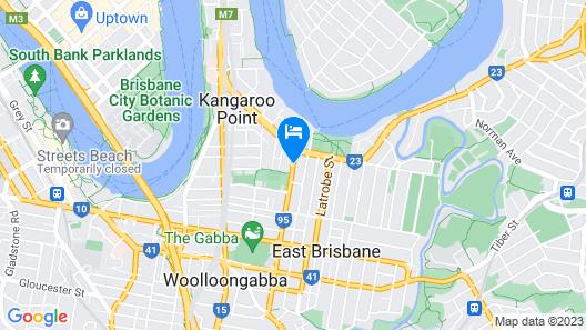 The Wellington Apartment Hotel Map