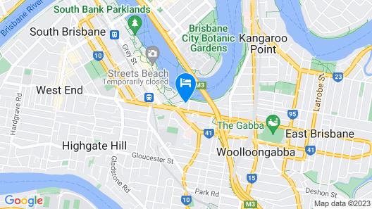River Plaza Apartments Map
