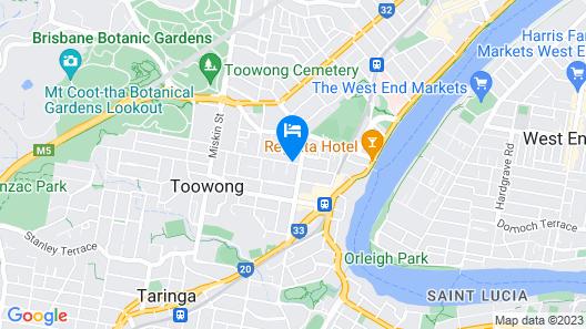 Toowong Villas Map