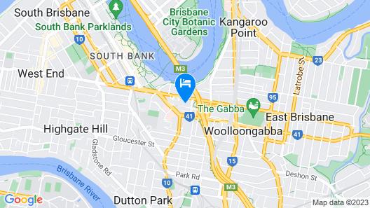 Quest South Brisbane Map