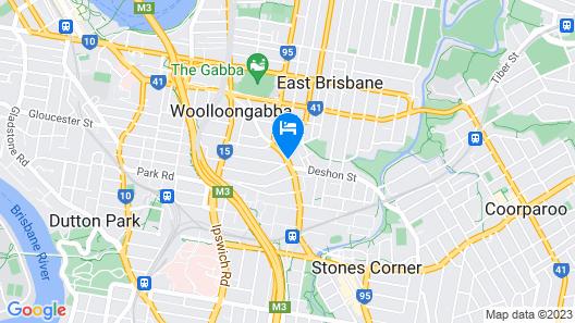 Quest Woolloongabba Map