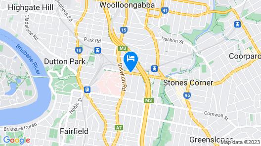 Hotel Chino Map
